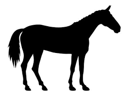 standing horse silhouette. Simple Horse Vector Illustration Of Standing Horse Silhouette Royalty Free Cliparts  Vectors And Stock Illustration Image 30954883