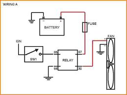 wiring electric fan electric fan thermostat wiring diagram wiring electric fan fan relay wiring diagram electric radiator fan install simplified of electric fan wiring