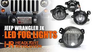 Mopar Fog Lights Jeep Wrangler The Brightest Jeep Wrangler Fogs Myotek Oem Vs Jw Speaker Vision X Morimoto Led Fog Lights