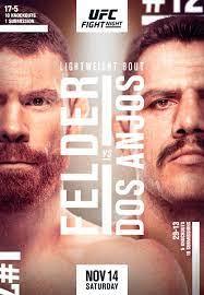 UFC Fight Night – Felder vs Dos Anjos ...