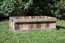 diy pallet raised garden bed black decker