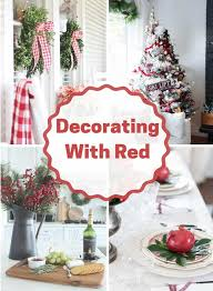 There are no holidays without delicious meals typical of this or that country. Red Christmas Decor Ideas Domestically Speaking