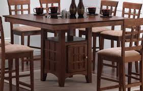 coaster mix and match counter height dining table with storage