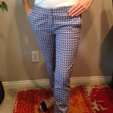 Patterned Pants Womens