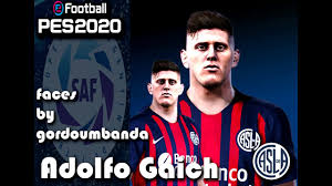 Pes 2020 - face Adolfo Gaich - [Descarga-Mediafire] - YouTube