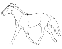 Paarden Kleurplaat Animals Horses Paarden Kleurplaten En Kleurrijk