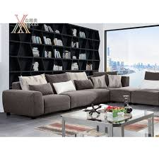 china living room dark grey fabric sofa