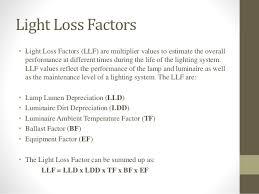 Led Lamp Led Lamp Lumen Depreciation Factor