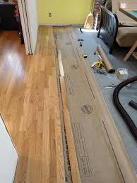 installing hardwood floor over particle board