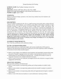 Paraeducator Cover Letter Sample Cover Letter For Paraeducator With No Experience
