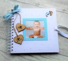 Baby Photo Album Book Details About New Baby Child Photo Album Scrapbook Personalised Handmade Boy Girl Memory Book