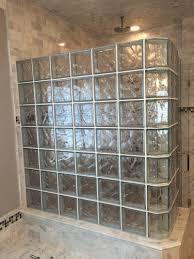 glass block shower installation glass blocks st louis glass block walk in shower kits