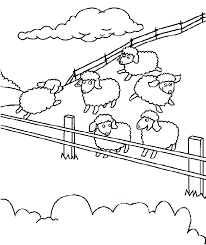 Small Picture Feed My Sheep Coloring Page