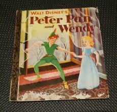 Walt Disney's PETER PAN AND WENDY Little Golden Book 1952 H/C VINTAGE | eBay