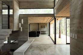 concrete floors and ceiling by oooox view in gallery jd concrete house by bak architects