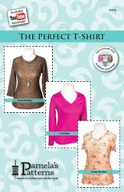 Perfect Patterns Enchanting 48 The Perfect TShirt Pamela's Patterns