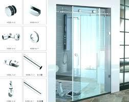 glass shower door handle replacement easyslim me inside idea 16