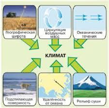 Климатообразующие факторы География Реферат доклад сообщение  Влияние циркуляции атмосферы на климат