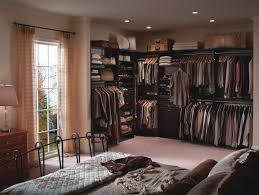 Small Bedroom With Walk In Closet Bedroom Closet Organizer System Shelf And Sliding Rod Totalslide