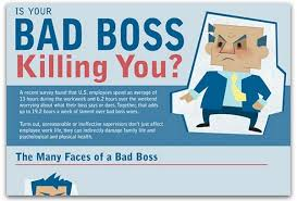 Bad Supervisors Infographic How Bad Bosses Affect Your Health Ragan