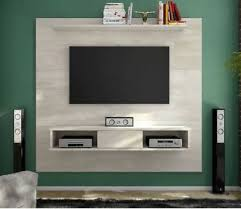 floating entertainment center rustic