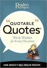 Quotable Quotes New Quotable Quotes Reader's Digest 48 Amazon Books