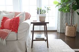 i ordered two of the mateo side tables and couldn t be more excited about them i have been looking for a side table for this end of my couch for a while