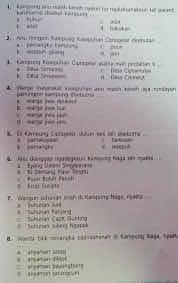 Kita baca dongengnya di dalam hati, yuk! Jawaban Uji Kompetensi Bahasa Sunda Kelas 9 Halaman 33 Brainly Co Id