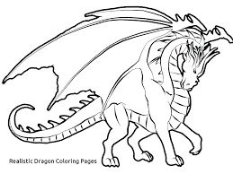 Realistic Dragon Coloring Pages Real Coloring Pages Free Realistic