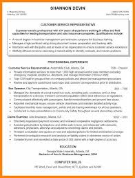 10 Objectives For Resumes Customer Service Resign Latter