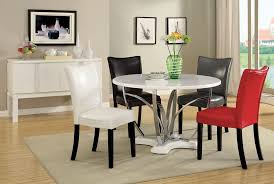 modern round dining table color