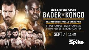 2020 is the twelfth year in the history of bellator mma, a mixed martial arts promotion based in the united states. Bellator 226 Bader Vs Kongo Preliminary Card Live Stream And Results