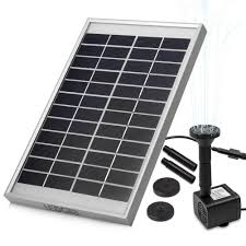 Solar Water Pump Kit With Led Lights Ledgle 5w Solar Fountain Pump Garden Water Pump For