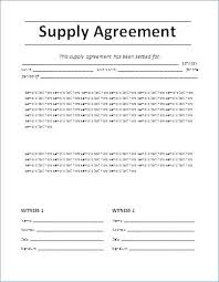 Contract Template Word Stunning Agreement Contract Template Word Comeunity