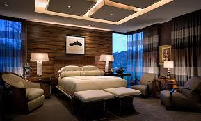 best bedroom lighting. Bedrooms:Master Bedroom Decor With Modern Ceiling Lamps And Table Near White Bed Best Lighting