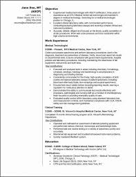 Medical Technology Example Best Resume Example Ideas Part 28 203343700409 Medical