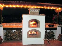 enchanting outdoor fireplace pizza oven and combination ideas pizzas combo diy