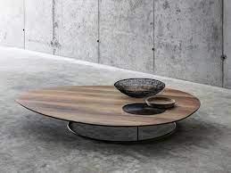 wood coffee table living room