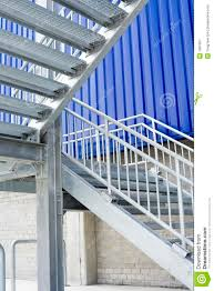 outdoor metal banister. royalty-free stock photo. download metal staircase outdoor banister