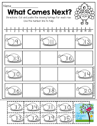 free printable thanksgiving math worksheets for kindergarten ...