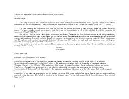 49 best letter of application sles