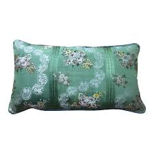 indian antique french cushions. A RECTANGULAR 18TH CENTURY GREEN SILK CUSHION Indian Antique French Cushions