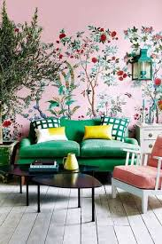Chinoiserie Wallpaper «Chinoiserie Living Room