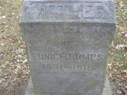 Eunice Rollins Bumps (1831-1915) - Find A Grave Memorial