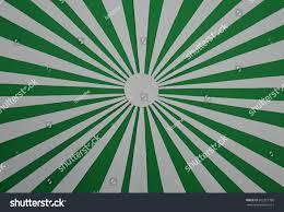 Radiation Design Green White Radiation Paper Composition Design Stock Photo