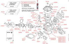 acceleration kart racing cylinder power valve reed system cylinder power valve reed system