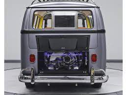 Everything Is Styled Up Including The Engine In The Back Vintage Vw Bus Vw Bus Volkswagen Bus