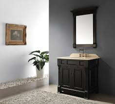 bathroom remodel black vanity. Brilliant Bathroom Alluring White Sink Bowls And Glossy Faucet Above Double Black Wide Bathroom  With Vanity Dark Framed Wall Mirror Near Pebble Area To Remodel O