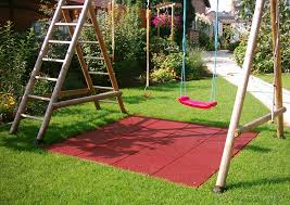 benefits of using playground rubber mats