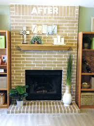 stained brick fireplaces cleaning red fireplace clean soot from